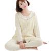 Любовь отцовство подходит одежда одежда для беременных пижамы пижама материнства одежда домашняя одежда кардиган M302 желтый M