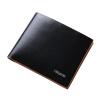 Дятел (TUCANO) Мужская кожаный бумажник короткий участок европейской и американской моды мужской тонкий красновато-коричневый бумажник WAA2093A-88RZ