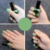 Оптовая Лак Для Ногтей Цвет Зеленый Шелушиться Лак Для Ногтей На Водной Основе Контрастного Цвета Маникюр Nail Art Лак Для Ногтей акриловый лак на водной основе для стекла