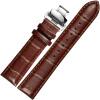 JEAYOU аксессуары для часов кожаный ремешок кожаные часы с двойной бабочкой пряжки универсальные часы с мужчиной 20GZP02