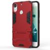 Красный Slim Robot Armor Kickstand Ударопрочный жесткий корпус из прочной резины для HTC Desire 10 Pro htc desire 650