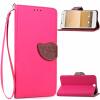 Розовый Дизайн Кожа PU откидная крышка бумажника карты держатель чехол для HTC One A9 розовый дизайн кожа pu откидная крышка бумажника карты держатель чехол для htc one a9