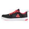 Peak (PEAK) женская обувь классическая удобная недорогая недорогая спортивная обувь DB710028 черный / флуоресцентный красный 35 метров