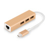 Cabos Type-C to 3-порт USB концентратор с Ethernet конвертер