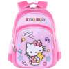 [Супермаркет] Jingdong Hello Kitty (HelloKitty) KT детские школьные сумки свежий простой случайный рюкзак школьный CG-HK3080H розовый