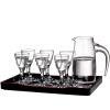 Лорна (РОНА) кристалла без свинца Маотай ликер с очки ликер фужеры рюмки установить 7 (15 мл * 6 + 150 мл белого вина бокал домашнего вина * 1)