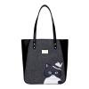 Му рыба (Muyu) Оригинальная сумка моды с капюшоном г-н Мэн Fun кошка портативного плечо мешок большой емкости серая 40645 рыба хариуз г красноярск