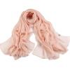 [Супермаркет] Jingdong антарктический (Nanjiren) шифоновые шарфы Весна шарфы женский солнцезащитное большой сплошной цвет длинный шарф платок Корейский дикий красная роза