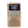 цена Там или быть квадратными (См меня здесь) LV290 карты колонки портативный металл ночного видения большой экран пожилой мини-стерео радио шампанского онлайн в 2017 году