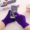 WISHCLUB сенсорный экран перчатки смартфон сенсорный экран перчатки трикотажные зимние шерстяные теплые перчатки fendi шерстяные перчатки с логотипом