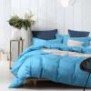 Huakang домашний текстиль хлопок активных сплошной цвет четыре комплекта из 60 с длинными штанами хлопок сатин постельные принадлежности европейском стиле простые листы Соединенных Штатов и Майами