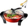 Oaks AUX HR50Y антипригарные сковороды большой емкости многоцелевой электрический сковорода плита горшок 4.5L купить горшок для пальмы большой