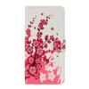 Цветка сливы дизайн Кожа PU откидная крышка бумажника карточки Дело держатель для Huawei чести 6X дело чести или звезда бенгалии