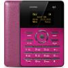 AIEK Q1 1,0 дюйма Ультратонкий карты телефон Bluetooth 2.0 FM Аудио плеер Sound Recorder Alarm