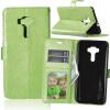 Зеленая классическая флип-обложка с функцией подставки и слотом для кредитных карт для Asus Zenfone ZD552KL зеленая классическая флип обложка с функцией подставки и слотом для кредитных карт для asus zenfone 3 zs550ml
