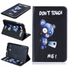 Синий медведь Стиль тиснение Классический откидная крышка с функцией подставки и слот для кредитных карт для Samsung Galaxy Tab E 8.0 T377V fanatskie trejlery zvezdny h vojn e pizoda 7