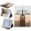 Классическая флип-обложка с тиснением в стиле Tower Tower с функцией подставки и слотом для кредитных карт для iPad 4 анальный вибратор xl tom of finland
