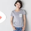 ИНМАН женская футболка простая повседневная хлопковая одежда женская одежда