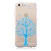Синий дерево шаблон Мягкий чехол тонкий ТПУ резиновый силиконовый гель чехол для IPHONE 6 Plus/6S Plus антигравитационный чехол для iphone 6 plus 6s plus черный