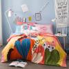 Комплект для постельного белья в Антарктиде (Нанджирен) Комплект постельных принадлежностей из хлопка Комплект постельных принадлежностей из большого постельного белья Комплект из четырех частей 1,5 / 1,8 м Кровать 200 * 230 см crockid комплект