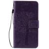 Purple Tree Design PU кожа флип крышку кошелек карты держатель чехол для HUAWEI Enjoy 5