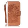 Браун Роуз дизайн Кожа PU откидная крышка бумажника карты держатель чехол для IPHONE 6PLUS браун роуз дизайн кожа pu откидная крышка бумажника карты держатель чехол для iphone 7plus
