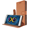 KOOLIFE HUAWEI MATE9LITE Мобильный защитный кожаный чехол / флип-кожаный чехол / Защитный чехол для карты / Мягкий чехол для Huawei mate9 Lite Cool Series - Brown чехол