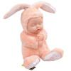 Бибер (Бибер) Милая Большой зайчик спит кукла умиротворить куклы плюшевые игрушки куклы моделирования детские игрушки умиротворить свет кофе джд джой joy обезьяны плюшевые игрушки куклы no