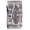 Струи Дизайн Кожа PU откидная крышка бумажника карты держатель чехол для IPHONE 6 PLUS