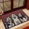 США сайт (LIDIMEI) тряпка коврик коврик гостиной становится темно-красного цвета шелк собака ПВХ основной цвет затененных 60 * 90cm трикси коврик под туалет пвх 37 × 45 см темно синий