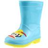 [супермаркет] PaulFrank Jingdong рот обезьяны обувь непромокаемые калоши резиновые сапоги в трубе детей мужчин и женщин моды сапоги PF1011 ребенок синий 32 ярдов le royal кружева моды на высоких каблуках непромокаемые сапоги воды обувь g003 белый 39 ярдов