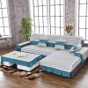 Bejirog крышка дивана скольжение моющийся IKEA модный (90 * 90см + 90 * 160см + 90 * 210см)  ikea граншер хромированный 602 030 90