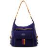 RJR, как прохладная NB корейской женщин сумка сумки с тремя случайного рюкзаком плеча диагональных мод дама мешками nb188 темно-синим бэби бум комплект сова голубой с темно синим