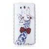 Жираф шаблон Мягкий тонкий ТПУ Резиновая крышка силиконовый гель чехол для LG G3 lg g3 s