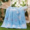Антарктические люди - основной текстильный уход за кожей мягкого лета, кондиционер был летом прохладно голубое небо 180 * 200 см