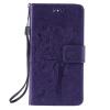 Purple Tree Design PU кожа флип крышку кошелек карты держатель чехол для LG G4MINI