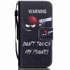 Снайпер Дизайн Кожа PU откидная крышка бумажника карты держатель чехол для IPHONE 5G цветочный дизайн кожа pu откидная крышка бумажника карты держатель чехол для iphone 7g