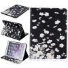 Маленькие белые цветы Стиль тиснение Классический откидная крышка с функцией подставки и слот для кредитных карт для iPad Air 2/6 6 viamax tight gel 2 vk