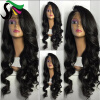 SF Lace Front Ponytail Wigs For Black Women 9A Loose Wave Peruvian Virgin Human Hair Lace Wigs With Baby Hair sf short lace front bob wigs for black women 9a pre plucked unprocessed virgin human hair brazilian wig with baby hair page 1