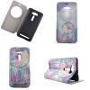 Розовый Dreamcatcher Дизайн Кожа PU откидной крышки Кошелек для карты памяти чехол для Asus Zenfone 2 Laser ZE500KL ze500kl 1a435ru