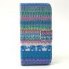 Слон Дизайн PU кожа флип кошелек карты держатель чехол для IPHONE 5