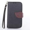 Черный Дизайн Кожа PU откидная крышка бумажника карты держатель чехол для Nokia Lumia 520