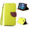 Зеленый дизайн Кожа PU откидная крышка бумажника карты держатель чехол для Nokia Lumia 730 защитная пленка для мобильных телефонов 3pcs nokia lumia 730 735