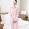 Hodohome домашняя пижама женская хлопковая одежда женская пижама st o 119