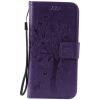 Purple Tree Design PU кожа флип крышку кошелек карты держатель чехол для SAMSUNG S7 pink tree design pu кожа флип крышку кошелек карты держатель чехол для samsung j710