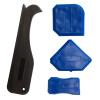 Скребок угол лезвия скребка стеклопластик угол лопата удаления скребком остаточного резиновый скребок инструмент США шов