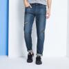 Semir Semir джинсы прямые мужские моды низкой талии джинсы ноги в синих брюках 11,216,241,502 29