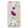 Фиолетовый узор бабочки Мягкая тонкая резиновая оболочка из силиконового геля TPU для IPHONE 6 Plus/6S Plus iface mall for iphone 6 plus 6s plus glossy pc non slip tpu hybrid shell pink