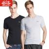 BOSIDENG мужская футболка хлопковая воздухопроницаемая одежда мужская одежда