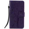 Purple Tree Design PU кожа флип крышку кошелек карты держатель чехол для HUAWEI P9 pink tree design pu кожа флип крышку кошелек карты держатель чехол для huawei mate 8